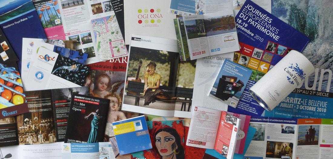Tinta Creation - Directrice artistique à Biarritz - Print et Webdesign